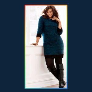 Lane Bryant Sweater Dress Size 14/16